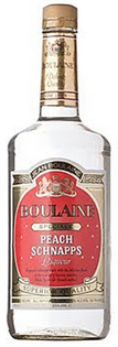 Boulaine Schnapps Peach 1.00l - Case of 12
